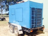 Compressor Trailer Mounted, Cummins Diesel 400cfm 200psi