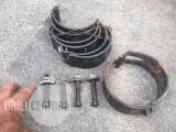 """4 1/2"""" Stop collars - Hinged - Surplus/Unused"""