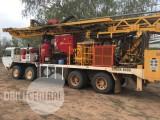 Edson 8000 on Oshkosh 8x8 Drill Rig