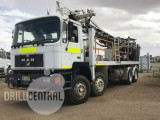 UDR 650, year 2006 mounted on a MAN 1990 twin steer truck with 170,000klm