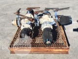 Water Manifold with 6 valves on skid