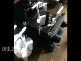 Drill Tube Foot Clamp