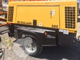 2011 Sullair trailer mounted air compressor