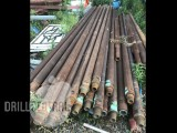 "4 1/2"" drill rods - Used"
