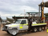 2012 EVH 2100R Drill Rig for sale on a 2009 V8 Land cruiser 6x6