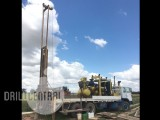 P160 Pioneer Drill rig on a International Truck with Sullair compressor 750x250