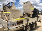 Blastcrete concrete line pump and Trailer
