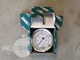 0-400 Bar 85mm, rear entry hydraulic console gauge - New