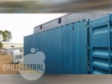 Shipping Container - 20'  w/  Shelving