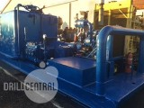 Triplex pump National Oilwell 346-P - on an oilfield skid