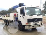 Heavy Vehicle – Flat Bed Water/Crane Truck