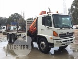 Heavy Vehicle – Flat Bed Crane Truck