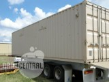 Comms Shack on 45' Tri-axle Trailer