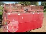 Steel diesel storage tank – approx. 1000 litre capacity