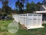 Flat Bottom Open Skid Top Tank  – 25000 L Capacity – DOM 2010